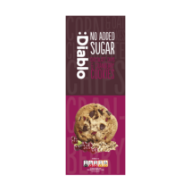 Diablo No Added Sugar Chocolate Chips & Cranberry Cookies (keksz csokoládé és vörös áfonya darabokkal hozzáadott cukor nélkül) 135 g