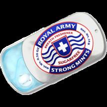 Royal Army Strong Mints cukormentes mentolos cukorka