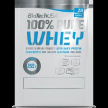 BioTechUSA 100% Pure Whey 28g Karamell-Cappucino