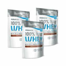 BiotechUSA - 100% Pure Whey 1000 g Csokoládé (több ízben)