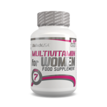 BiotechUSA - Multivitamin for Women 60 tbl
