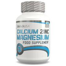 BiotechUSA Calcium zinc magnesium 100 tbl