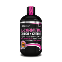 BiotechUSA L-Carnitine+Chrome 70.000 narancs 500 ml
