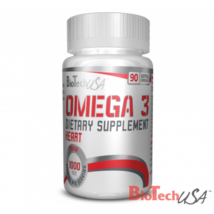 BiotechUSA Omega-3 90 kapszula