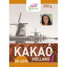 Szafi Reform Zsírszegény holland kakaópor (20-22% kakaóvaj tartalom) 200 g