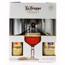 La Trappe Quadrupel ajándékcsomag (0,75 l, 10%)