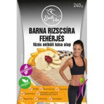Szafi Free barna rizscsíra fehérjés főzés nélküli kása alap 240 g