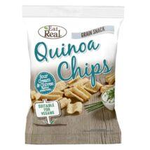 EAT REAL QUINOA CHIPS TEJFÖLÖS-HAGYMÁS 30 g