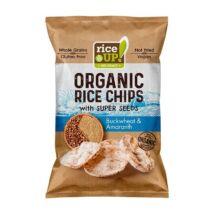 Rice Up Barna Rizs Chips Hajdina & Amaránt 25 g