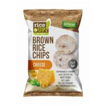 Rice Up Barna Rizs Chips Sajtos 60 g