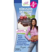 Szafi Reform Kókuszos desszert krémalap édesítőszerrel 200g