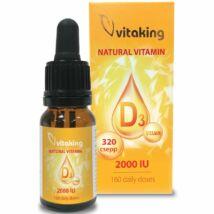 Vitaking D3-Vitamin Cseppek 10ml