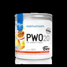 Nutriversum Flow PWO 2.0 210g mango-maracuja