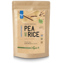 Nutriversum Vegan Pea and Rice Vegan Protein 500g vanilla