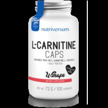 Nutriversum WSHAPE L-carnitine caps 120 kapszula