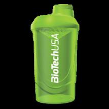 BioTechUSA Keverőpalack Biotech Wave Shaker 600ml zöld