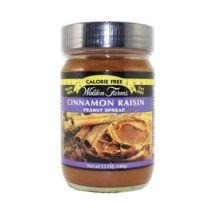 Walden Farms - Cinnamon Raisin Peanut Spread (Fahéjas-Mazsolás Mogyorókrém) 340 g