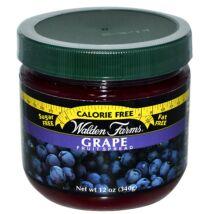 Walden Farms - Grape Fruit Spread (Szőlő dzsem) 340 g