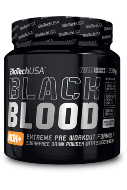 BiotechUSA Black Blood Nox+ 330 g vérnarancs ízű
