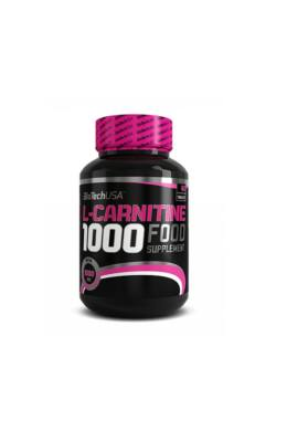 BiotechUSA L-carnitine 1000 Food supplement 60 tbl