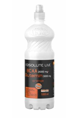 Absolute live BCAA + L-Glutamin Orange 1000ml