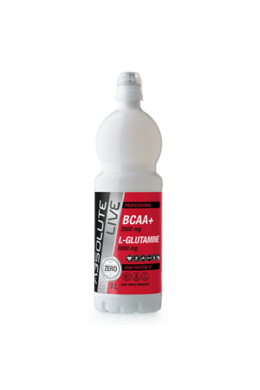 Absolute Live BCAA + L-Glutamine Sour Cherry 1000ml