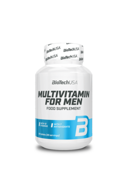 BioTechUSA MULTIVITAMIN FOR MEN 60 tabletta