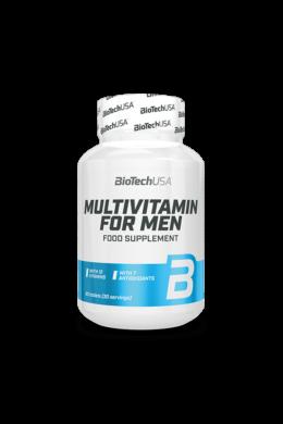 BioTechUSA MULTIVITAMIN FOR MEN 60 tabletta
