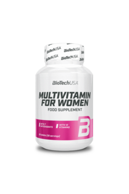 BioTechUSA MULTIVITAMIN FOR WOMEN 60 tabletta