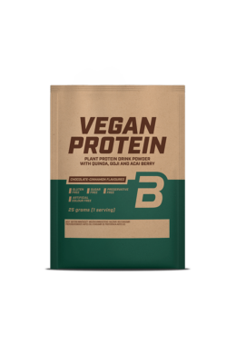 BioTechUSA VEGAN Protein 25g csokoládé-fahéj