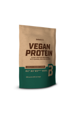 BioTechUSA VEGAN Protein 500g vaníliás sütemény