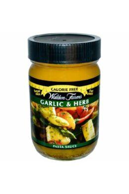 Walden Farms - Garlic & Herb Pasta Sauce (fokhagymás & zöld fűszeres tészta szósz) 340 g
