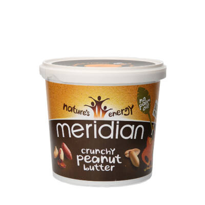 Meridian - Földimogyorókrém Crunchy 1Kg