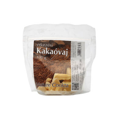 Nature Cookta - kakaóvaj 100g