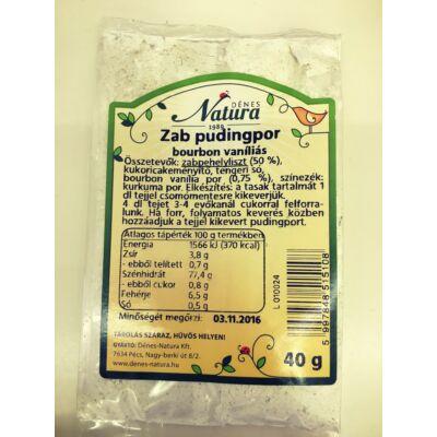 Dénes-Natura - Zab Pudingpor Bourbon Vaníliás 40g
