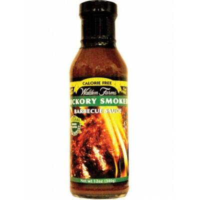 Walden Farms -  Hickory & Smoked BBQ Sauce (Hickory Füstölésű BBQ Szósz) 340 g
