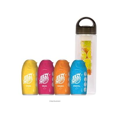 Eezy Spritz (4db) csomag mixelt ízek + Infuser palack