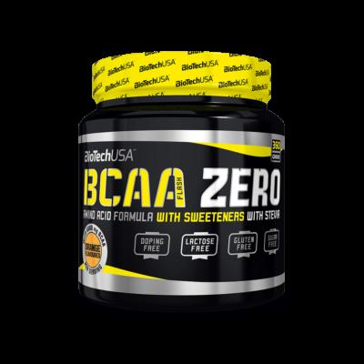 BiotechUSA BCAA Flash Zero Narancsos 360 g