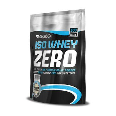 BiotechUSA - Iso Whey Zero 500 g (több ízben)