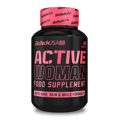 BiotechUSA - Active woman 60 tbl