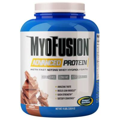 Gaspari Nutrition, Myofusion Advanced Protein New 1814g - csokoládé