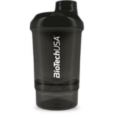 Keverőpalack Biotech Wave+ Nano 300 ml fekete