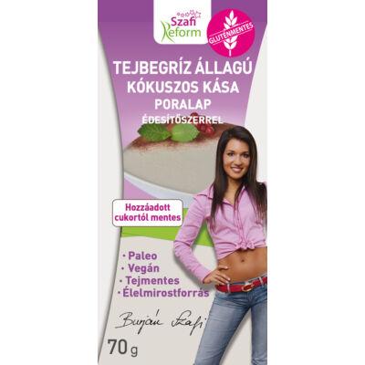 Szafi Reform tejbegríz állagú kókuszos kása poralap édesítőszerrel 70 g
