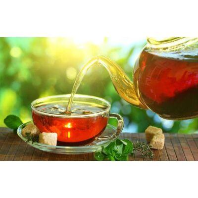 Gárdonyi tea time teakollázs vintage