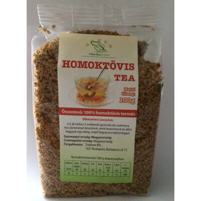 Herbastar - HOMOKTÖVIS TEA 100 G