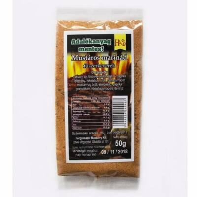 Mustáros marinád fűszerkeverék 50 g