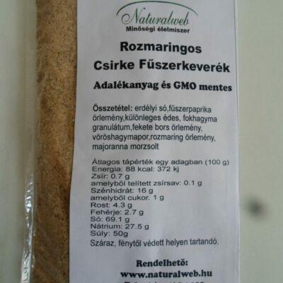 Rozmaringos csirke fűszerkeverék 50 g