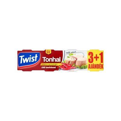 Twist Tonhaltörzs napraforgó olajban 320g