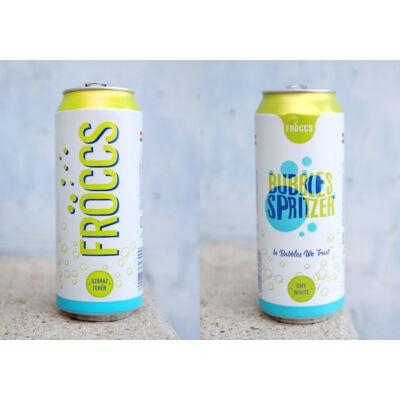 Bubbles Spritzer Fehér Fröccs 0,5l 6,2% dobozos
