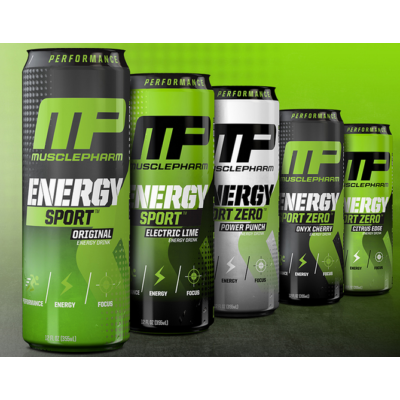 Musclepharm Energy Sport Zero Energy Drink 355 ml (több ízben)